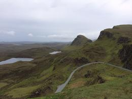 View from the Quiraing on the Isle of Skye, laura s - June 2014