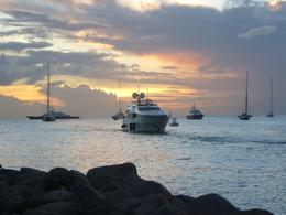 Photo of St Maarten Day Trip to the Island of Prickly Pear from St. Martin Sunset at Sea