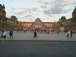 Photo of Paris Skip the Line: Paris Louvre Museum Guided Tour the front of the louvre.