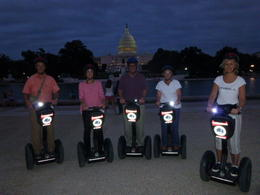 Photo of Washington DC Washington DC Segway Night Tour The sun was just going down when we went to the capitol.