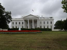 You only see the rear of the White House due to security, but it is still a site worth seeing., Amanda W - October 2009