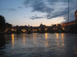 Photo of Rome Rome Tiber River Night Cruise with Dinner or Wine Tiber at Night