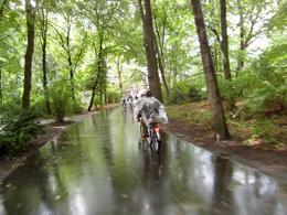 Rain or shine the Berlin Bike Tour is great fun., Nigel F - September 2010