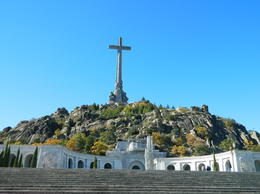 Photo of Madrid El Escorial Monastery and the Valley of the Fallen from Madrid Valle de Los Caidos