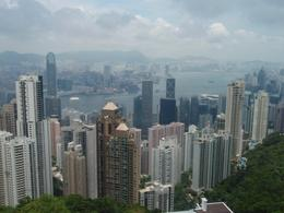 view from victoria peak - August 2010