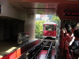 Photo of Hong Kong Big Bus Hong Kong Hop-On Hop-Off Tour Victoria Peak cable car where the Hop on Hop Off bus took us