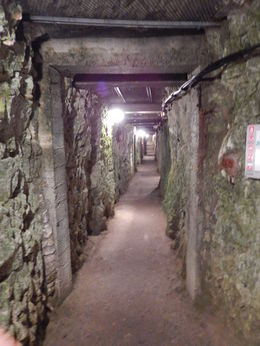 Inside the bunker at Vimy Ridge , jatypan - September 2015