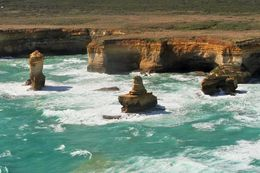 Flying over the 12 apostles on our Great Ocean tour. , Shawn A - December 2015