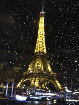 Photo of Paris Dinner Cruise on the Seine River with Hotel Pickup Beautiful Eiffel Tower from the Seine