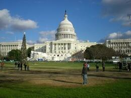 Capitol building, Lizzie G - December 2008