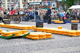 Photo of Amsterdam Alkmaar Cheese Market and Dutch Windmills Half-Day Trip from Amsterdam Cheese Auction