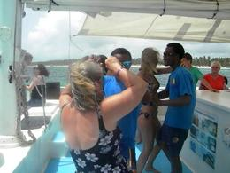 Photo of Punta Cana Punta Cana Day Cruise with Snorkeling dancing
