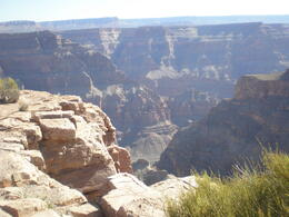 Photo of Las Vegas Grand Canyon West Rim Air and Ground Day Trip from Las Vegas with Optional Skywalk Eagle point