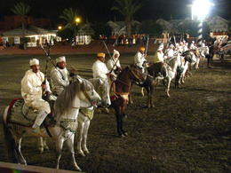 Photo of Marrakech Fantasia Moroccan Dinner and Cultural Show Horses