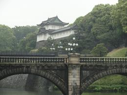 View of Imperial Palace, Tokyo. - June 2010