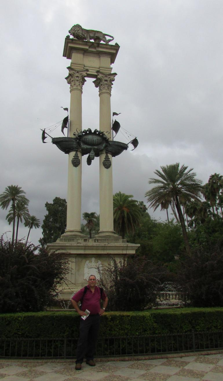 In the Exposition area - Seville