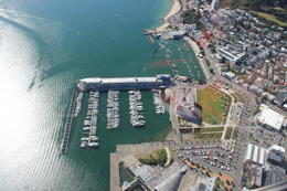 Photo of Wellington South Coaster Helicopter Flight from Wellington Just before landing