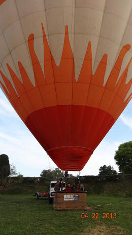 Photo of Barcelona Hot Air Balloon Flight over Catalonia Listos para despegar