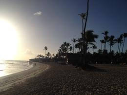 Walking the beach in Punta Cana at the Grande Iberostar , jon p - March 2014