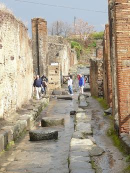 Streets of Pompeii, Ronald K - December 2009