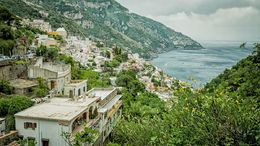 The central harbour of Positano. , Paul - June 2016