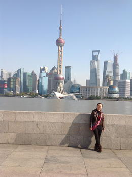 Photo of Shanghai Best of Shanghai Day Tour including Jade Buddha Temple and The Bund Pu Xi skyline