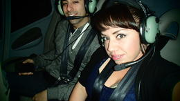 Photo of Las Vegas Las Vegas Strip Night Flight by Helicopter with Transport Ready for Take-off