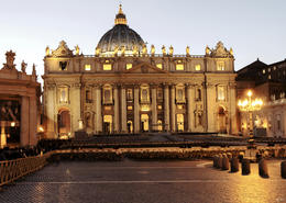 Photo of Rome Shared Arrival Transfer: Fiumicino Airport to Rome Hotels St Peter's Basilica