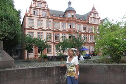 Anna at the Gutenberg Museum in Mainz during Wiesbaden and Mainz Day Trip from Frankfurt , Mario S - July 2014