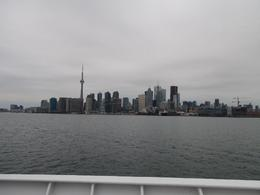 Photo of   Toronto skyline from Lake Ontario