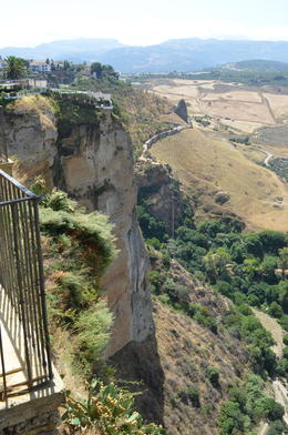 Photo of Costa del Sol Ronda and Tajo Gorge Day Trip from the Costa del Sol View of countryside from Alameda Del Tajo