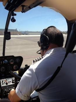 Pilot gets ready for takeoff, Dave H - July 2012