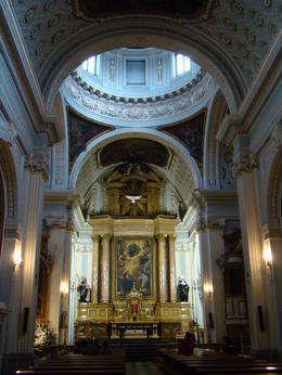 Photo of Madrid Madrid Small-Group Walking Tour including Royal Palace A small church in central Madrid