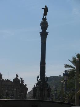 CHRISTOPHER COLUMBUS STATUE , Tony V - September 2012