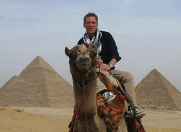 Camel ride around the Pyramids..my guide helped me pick the best one and made sure I was paying a reasonable rate. Perfect! , Bernie - November 2014
