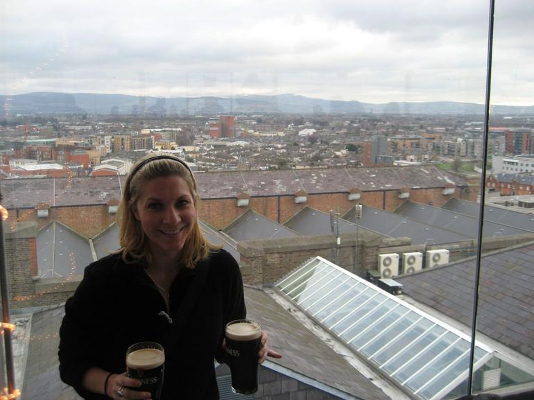 Drinks at the Gravity Bar - Dublin