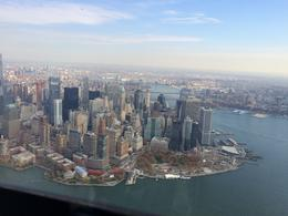 This is the sort of view you can expect to see if you take the Big Apple Helicopter Tour with Viator , David P - November 2014