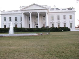 front of the white house , Andrew B - March 2011