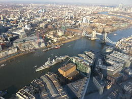 Photo of London The Shard London: The View from The Shard L'ombre du Shard sur Tower Bridge