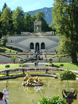 Photo of Munich Royal Castles of Neuschwanstein and Linderhof Day Tour from Munich Linderhof garden