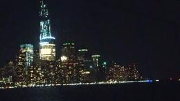 This was taken from our window seat as the cruise rounded the tip of Manhattan. The still under construction Freedom Tower is the tallest building on the site where WTC once stood. , Henning S - January 2013