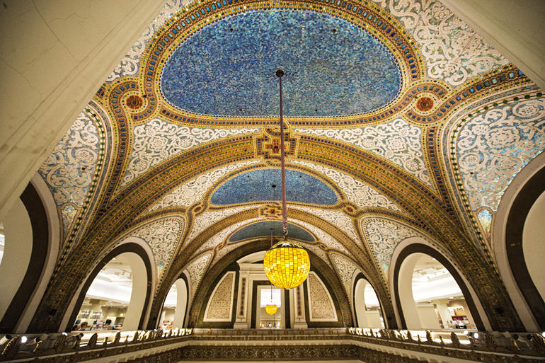 Macy's ceiling - Chicago