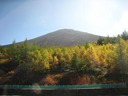Mt Fuji in the sun. - October 2007