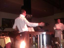 Waiter singing opera, SCV - July 2013