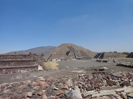 Photo of Mexico City Teotihuacan Pyramids and Shrine of Guadalupe Pirâmides de Teotihuacan