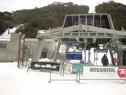 Unable to go up this ski lift but we went up Merritts and Kosciuszko to Eagle's Nest., Jason Wuen Jin D - August 2009
