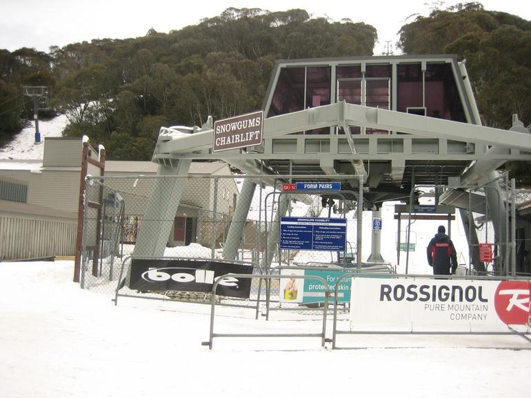 Showgums chairlift - Canberra