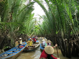 Photo of Ho Chi Minh City Mekong Delta Discovery Small Group Adventure Tour from Ho Chi Minh City Small rowing boat