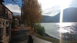 Walking along the Danube in Dürnstein. , Jennifer B - November 2015