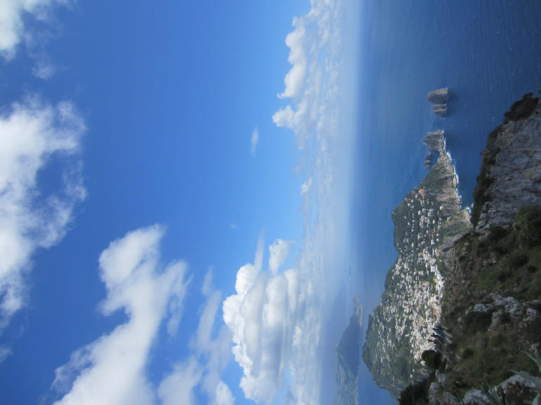 View from the top of Anacapri - Rome